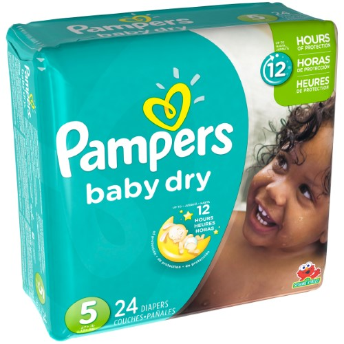 PAMPERS DRY SIZE 5 JUMBO