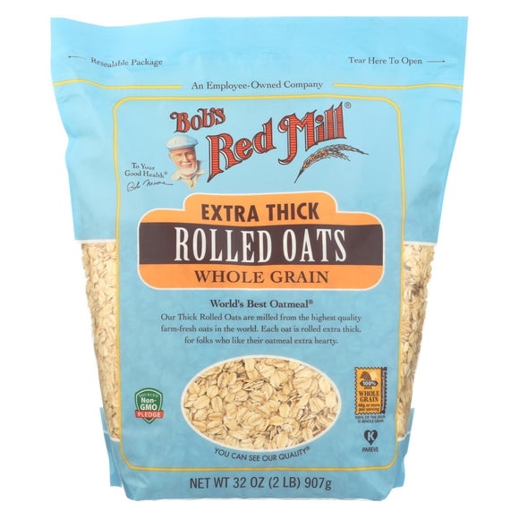 Bob's Red Mill Rolled Oats - Extra Thick 32 Oz