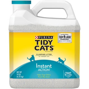 Tidy Cats Instant Action Scooping Cat Litter
