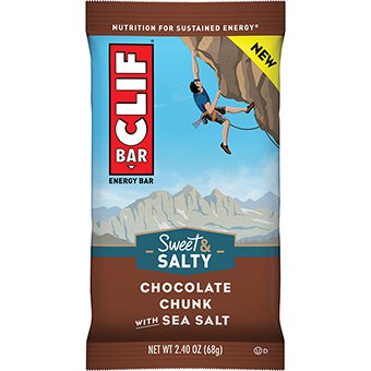 CLIF BAR CHOCOLATE CHUNK WITH SEA SALT