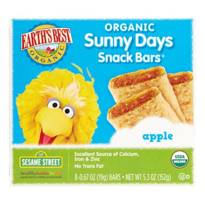 Organic Sunny Days Snack Bar Apple