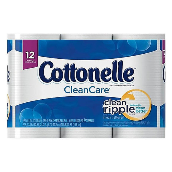 COTTONELLE CLEAN CARE, 12 PACK