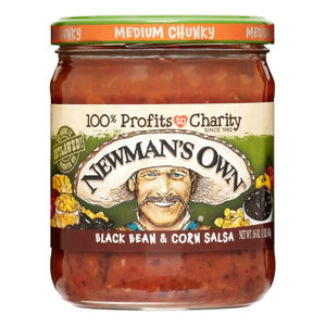 Newman's Own Black Bean & Corn Medium Salsa