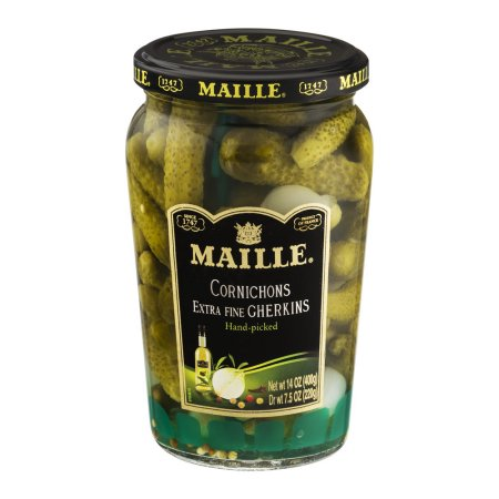 Maille Pickles Cornichons Original 14 Oz
