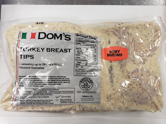 Dom's Turkey Tips- Honey mustard