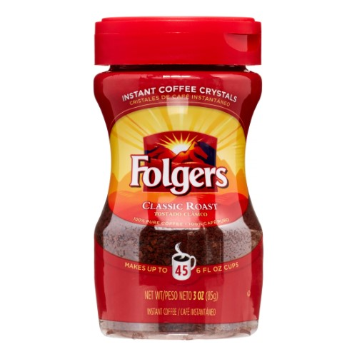 FOLGERS COF INST CRYSTALS
