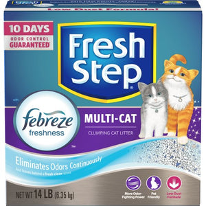 Multi-Cat Scoopable Scented Cat Litter