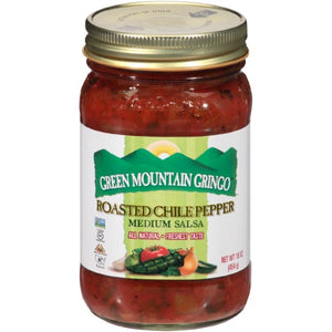 Green Mountain Gringo Salsa, Roasted Chili Pepper