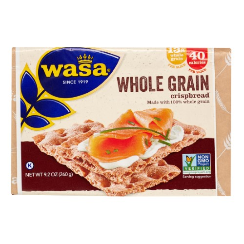 WASA WHOLE GRAIN CRISPBREAD
