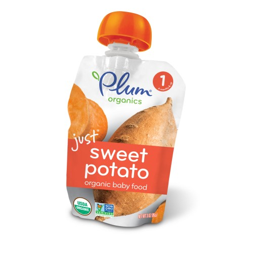 Plum Organics Stage 1 Organic Baby Food, Sweet Potato Puree