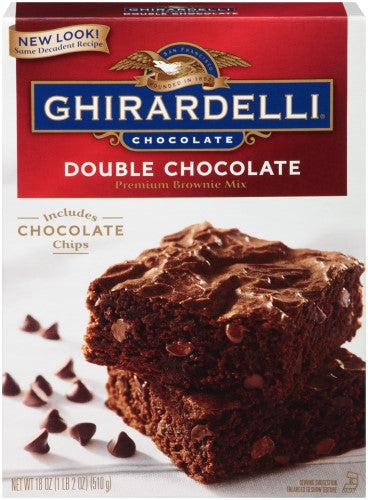 GHIRARDELLI BROWNIE DOUBLE CHC