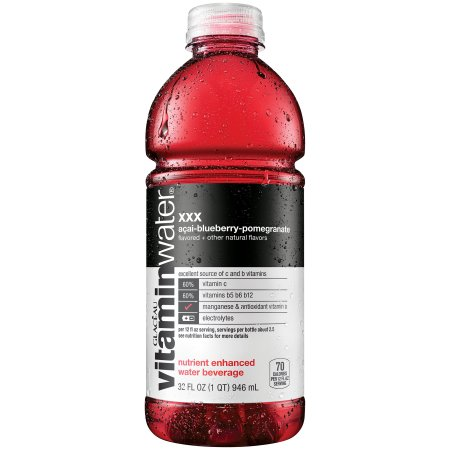 Vitaminwater XXX Acai-Blueberry Pomegranate, 32 Fl. Oz.