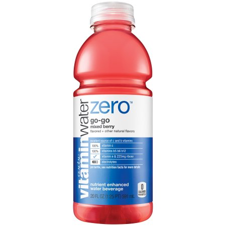 Vitamin Water Go Go Mixed Berry Water Beverage, 20 Fl. Oz