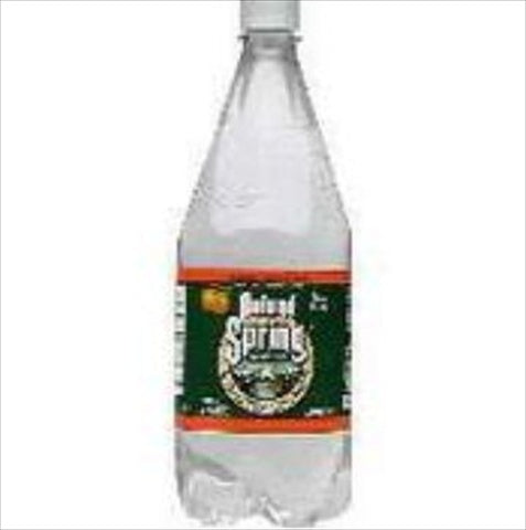 Poland Spring Sparkling Water, Orange, 33.8 Oz. Bottle