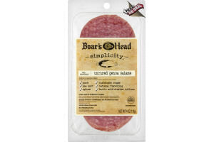 BOAR'S HEAD UNCURED SALAME