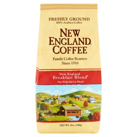 New England Coffee, Breakfast Blend, 12 Oz.