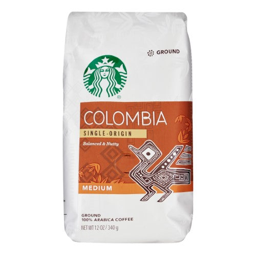 Starbucks Colombia Medium Roast Ground Coffee - 12oz