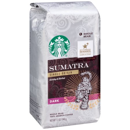 Starbucks Dark Roast Whole Bean Coffee — Sumatra