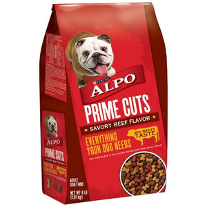ALPO Dry Dog Food Prime Cuts Savory Beef Flavor, 16lb