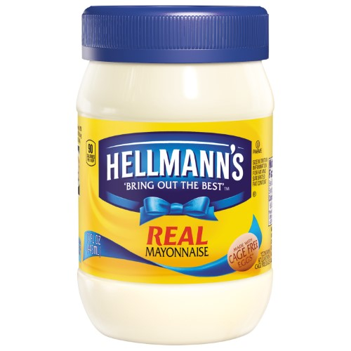 Hellmann's Mayonnaise for Delicious Sandwiches Real Mayo Rich in Omega 3-ALA