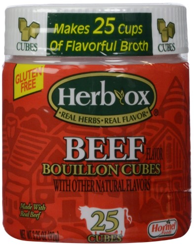 HERB-OX BOUILLON CUBES BEEF