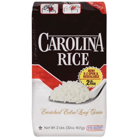 CAROLINA ENRICHED EXTRA LONG GRAIN WHITE RICE