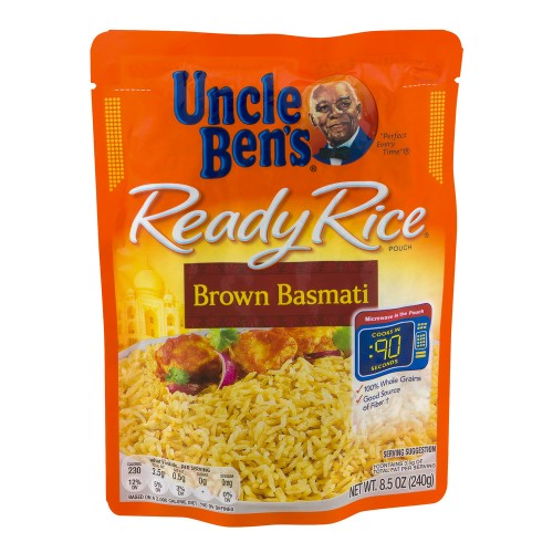 UNCLE BEN'S READY RICE: BROWN BASMATI