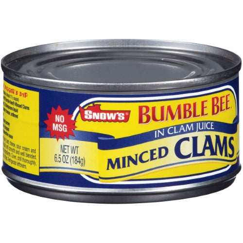 Bumble Bee Snow's Minced Clams in Clam Juice