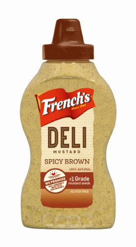 French's Spicy Brown Mustard 12oz
