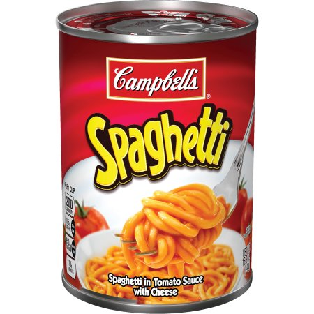 CAMPBELL'S CANNED SPAGHETTI