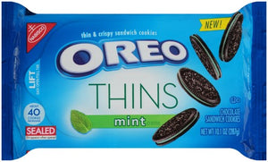 OREO Thins Chocolate Sandwich Cookies