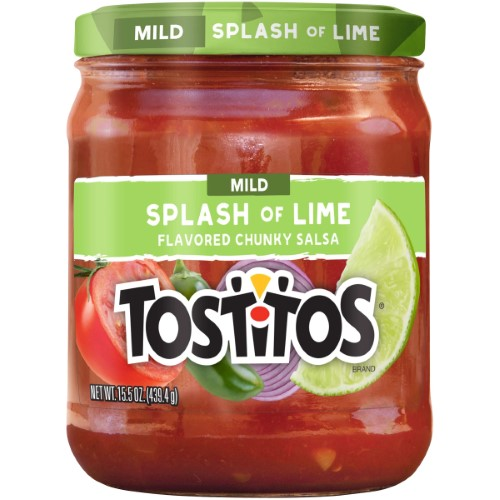 TOSTITOS SPLASH OF LIME MILD SALSA