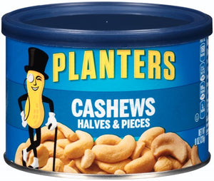 PLANTERS CASHEW HALVES & PIECES