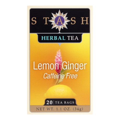 Stash Herbal Tea Caffeine Free Lemon Ginger