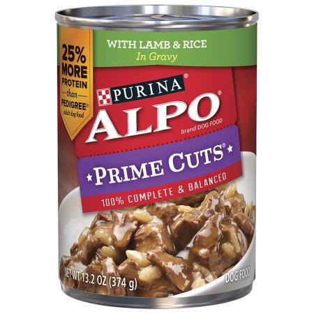 ALPO Prime Cuts with Lamb & Rice in Gravy