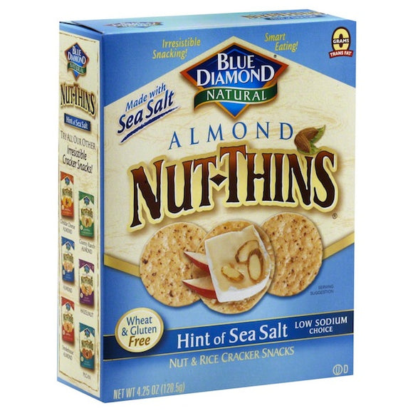 ALMOND NUT THINS SEA SALT