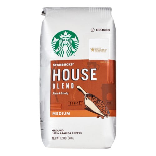 Starbucks House Blend Medium Roast Ground Coffee - 12oz