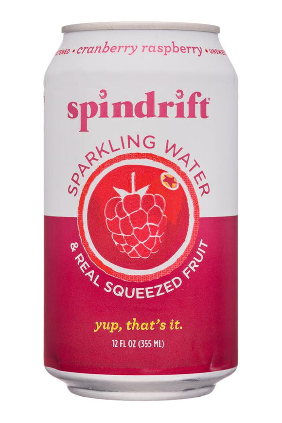 Spindrift Cranberry/Raspberry Sparkling Water