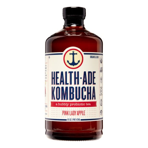 HEALTH-ADE KOMBUCHA PINK LADY APPLE 16 FL OZ