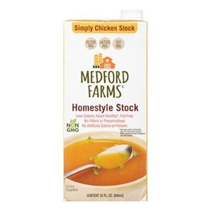 MEDFORD FARMS HOMESTYLE CHICKEN STOCK
