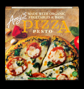 Amy's Frozen Pesto Pizza, Hand-Stretched Crust