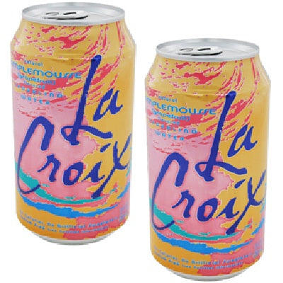 LaCroix Core Sparkling Water with Natural Grapefruit Flavor