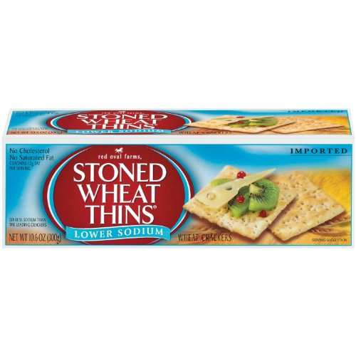 STONED WHEAT THINS LOWER SODIUM