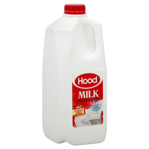 Hood Milk - 0.5 gal whole milk