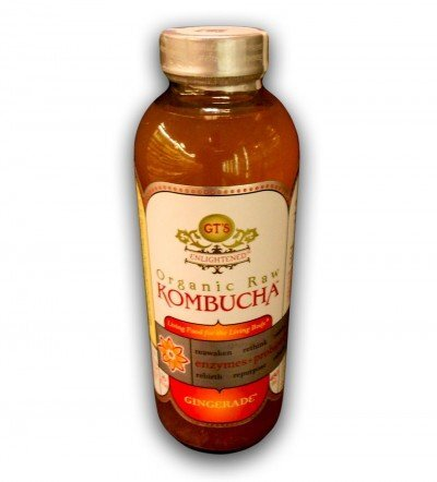 GT'S ENLIGHTENED ORGANIC & RAW KOMBUCHA GINGERADE, 16 FL. OZ.