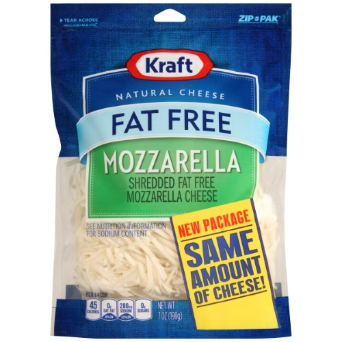 Kraft Shredded Fat Free Mozzarella Cheese