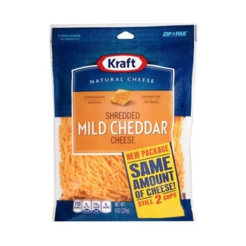 Kraft Shredded Mild Cheddar Cheese