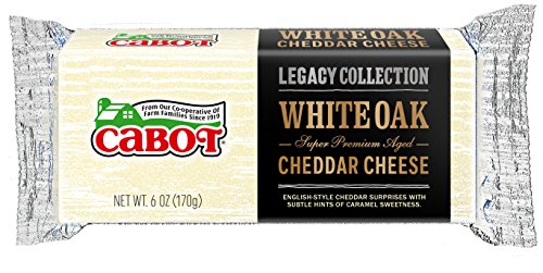 Cabot White Oak Cheddar Cheese