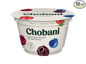 CHOBANI 2% MIX BERRY YOGURT