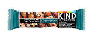 KIND BAR DARK CHOCOLATE NUTS & SEA SALT